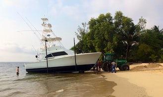 """Fishing Charter On 41ft """"Deceiver"""" custom G&S"""