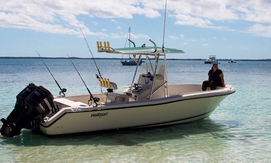 Enjoy Fishing In North Abaco, The Bahamas On Center Console