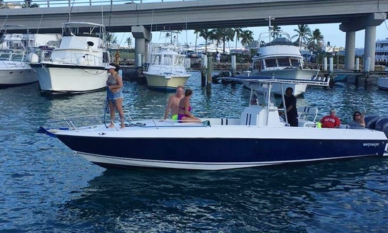 Charter 32' Whitewater Center Console In Nassau, The Bahamas