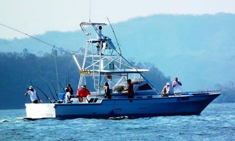 T-Boat Fishing Charter in Guanacaste