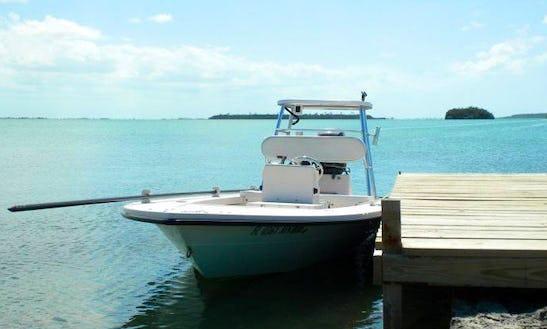 Enjoy Fishing In Marsh Harbour, Bahamas On Center Console