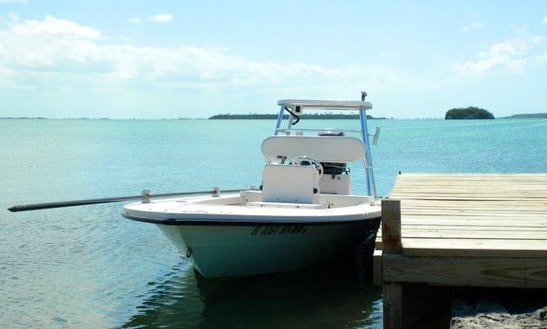 Enjoy Fishing In Marsh Harbour, Bahamas On Center Console
