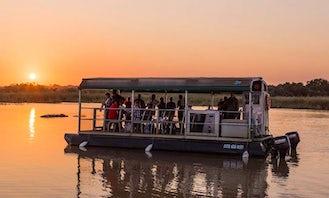 Charter a Pontoon Boat in Saint Lucia Estuary, KwaZulu-Natal