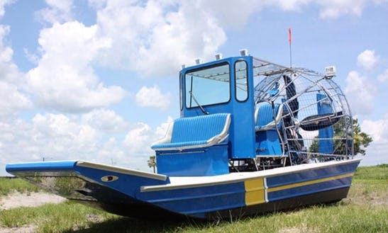 Airboat Tours For 6 People In San Fernando, Trinidad And Tobago