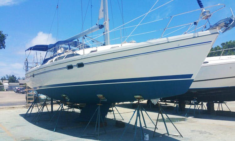 Sailing Charter On 39' Catalina Sailboat In Fort Lauderdale, Florida