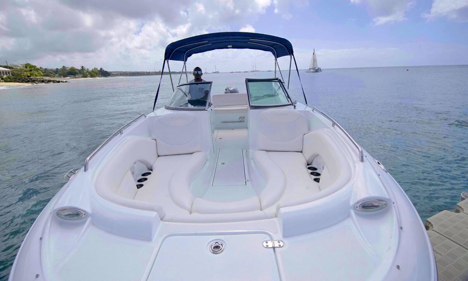 Deck Boat Rental in Bridgetown