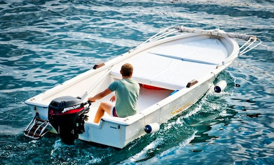 16' Gaia Dinghy Rental In Ponza, Italy