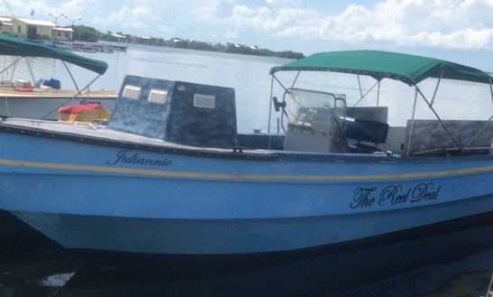 Reef Or Deep Sea Fishing Tours In San Pedro, Belize With Captain Armando