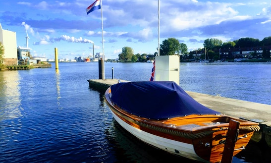 Canal Boat Rental In Amsterdam