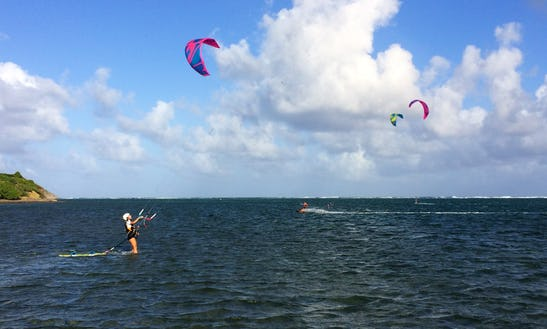 Kitesurfing Lessons In Sainte-anne