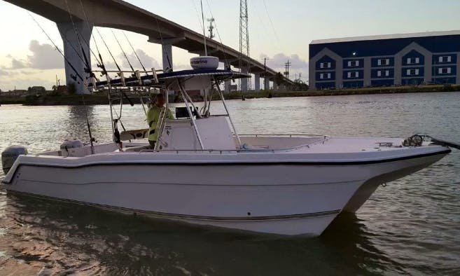 "Enjoy Fishing On 27ft ""Revelry"" ProKat Center Console In Freeport, Texas"