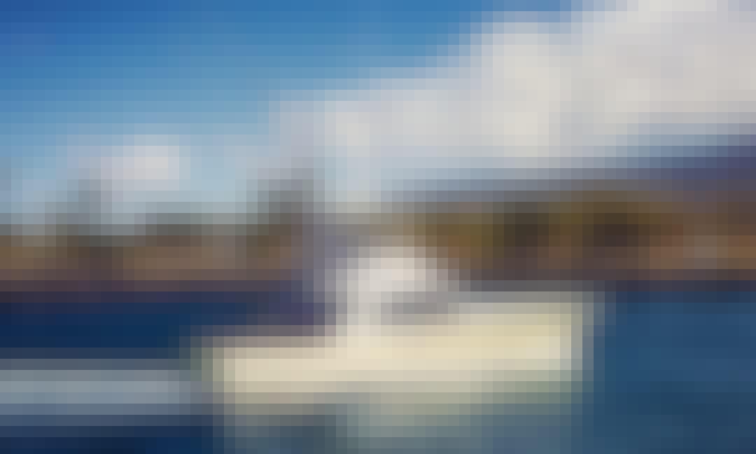 "Fishing Charter On 38ft ""El Jobean"" Yacht In Kailua-Kona, Hawaii"