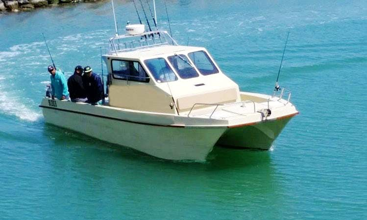 "Cape Town Fishing Charter on 30ft ""SkipJack"" Fishing Boat with David"