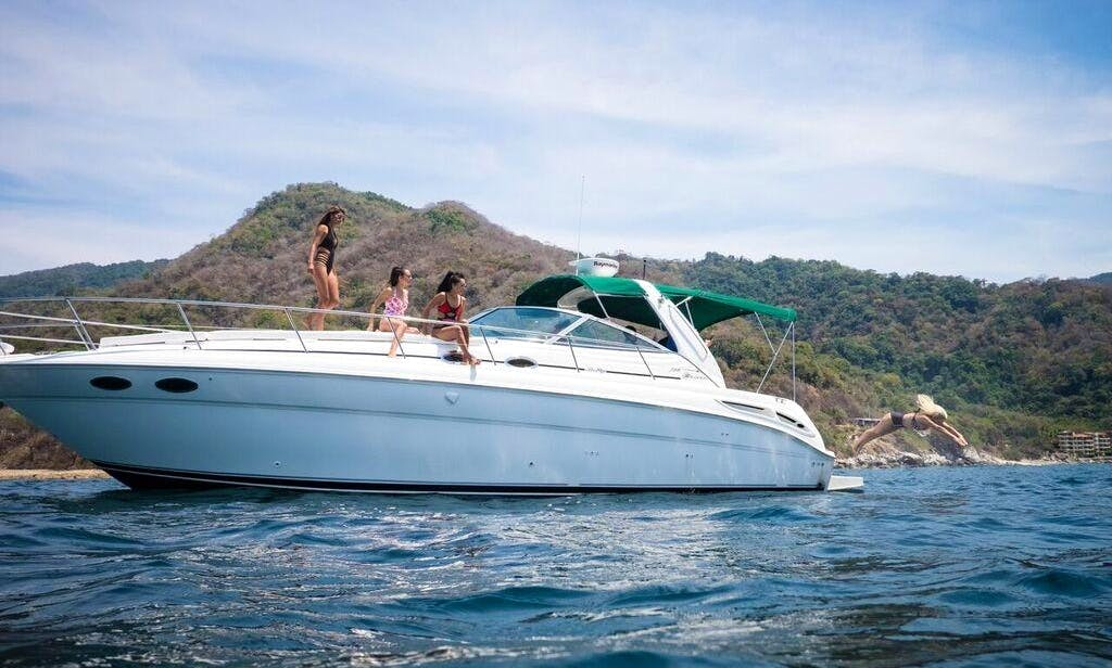 Charter 38' Sea Ray Sundancer Motor Yacht In Nuevo Vallarta, Mexico
