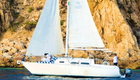 Rent 28ft 'american Express Ii' Cruising Monohull In Cabo San Lucas, Mexico