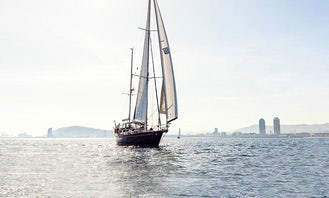 Captained Charter on 68ft Sailing Yacht in Barcelona, Spain