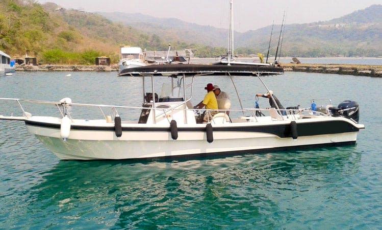 32' Fishing Charter in Cebu, Philippines
