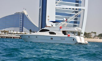 Luxury 75ft Yacht Cruise In Dubai with Excellence Certificate 2019 From Tripadvisor