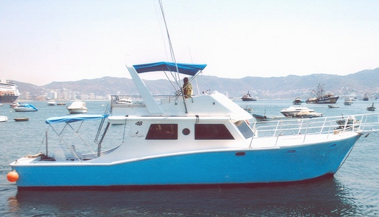 Enjoy Fishing In Acapulco, Mexico On 48' Victoria  Sport Fisherman
