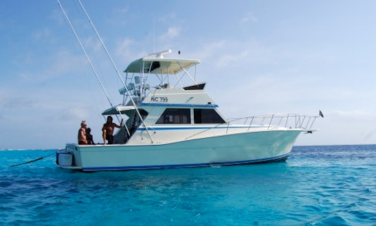 Enjoy Fishing In Willemstad, Curaçao On 42'' Sport Fisherman