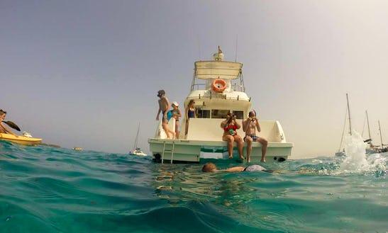 39' Power Catamaran Rental In Corralejo, Spain