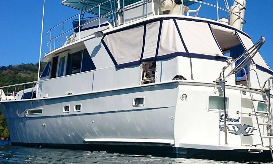 Charter 55' Hatteras Power Mega Yacht in Diego Martin, Trinidad and Tobago