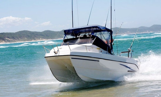 Enjoy Fishing In Esiphahleni, South Africa On 21' Cobra Cat Cuddy Cabin