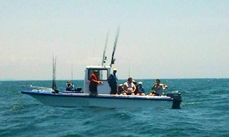 Enjoy Fishing in Richards Bay, South Africa on 26' Cat Center Console