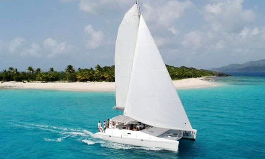 44ft Voyage Dc 45 Beach Catamaran Charter In Pointe D'esny, Mauritius