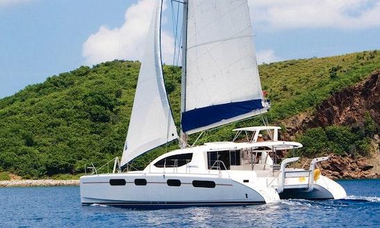 Charter 46' Leopard Catamaran In Seychelles