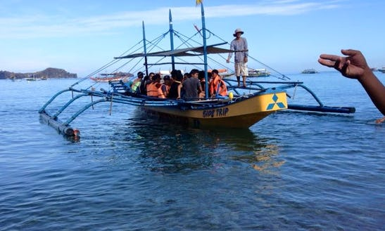 Take A Side Trip Around Zambales Islands Aboard A Wooden Boat!
