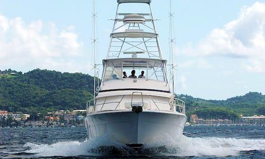 Enjoy Fishing In Sainte-anne, Martinique On Bertram 605 Sport Fisherman