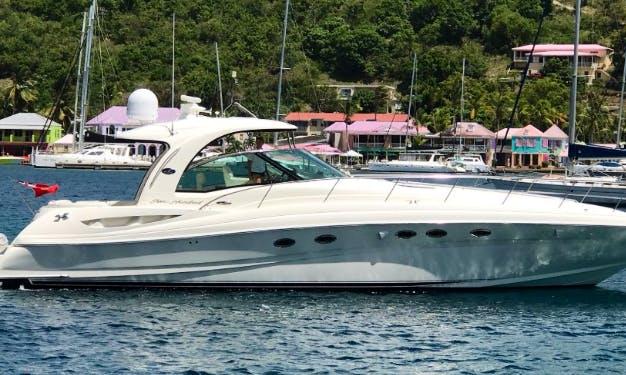 Charter Sea Ray 500 Sundancer Motor Yacht in Tortola, British Virgn Islands