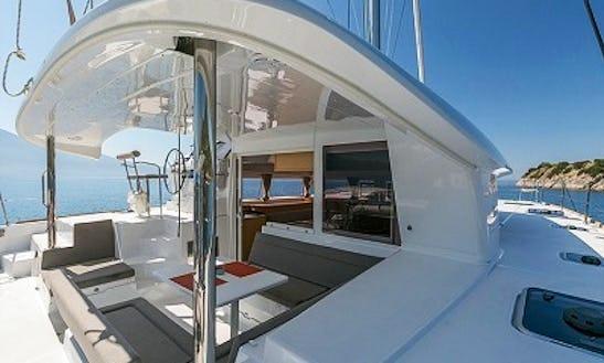 Cruising Catamaran Rental In Lefkada