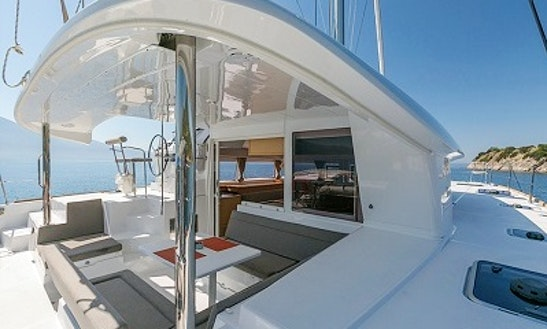 Cruising Catamaran Rental In Lefkada