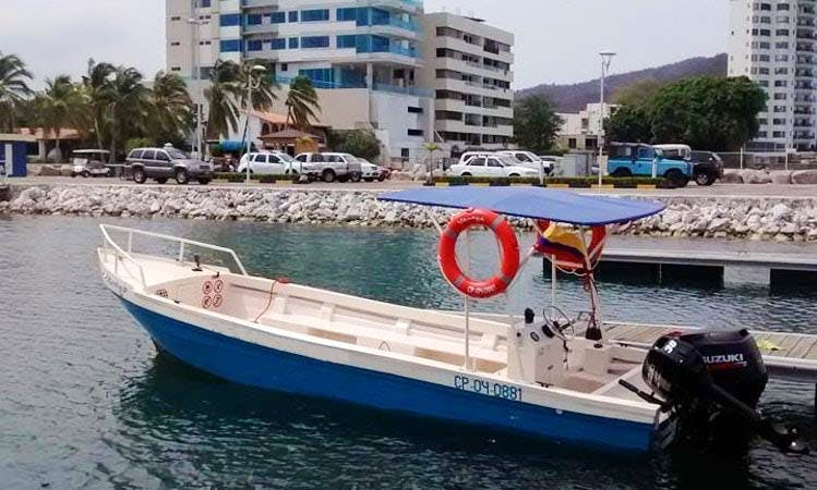 Diving Boat Rental In Rodadero, Colombia