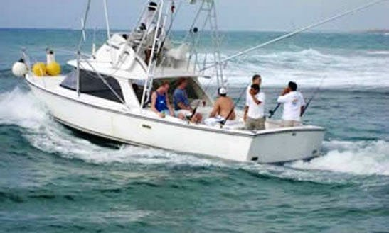 Enjoy Fishing On 29ft Contender Sports Fisherman Yacht In Santa Marta, Colombia