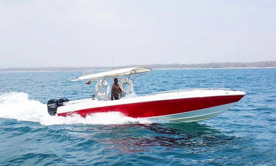 Deck Boat Rental In Cartagena