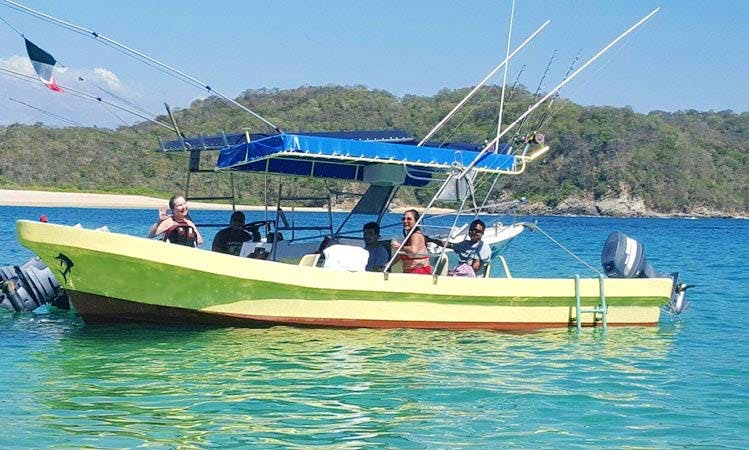 Enjoy Fishing in Santa Cruz Huatulco, Mexico with Captain Crisanto