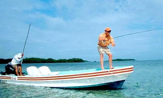 Sport fisherman rental in san pedro getmyboat for Fishing san pedro belize