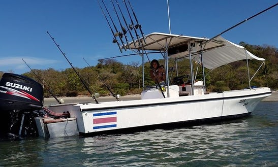 Enjoy Fishing In Nosara, Costa Rica On 31' Center Console