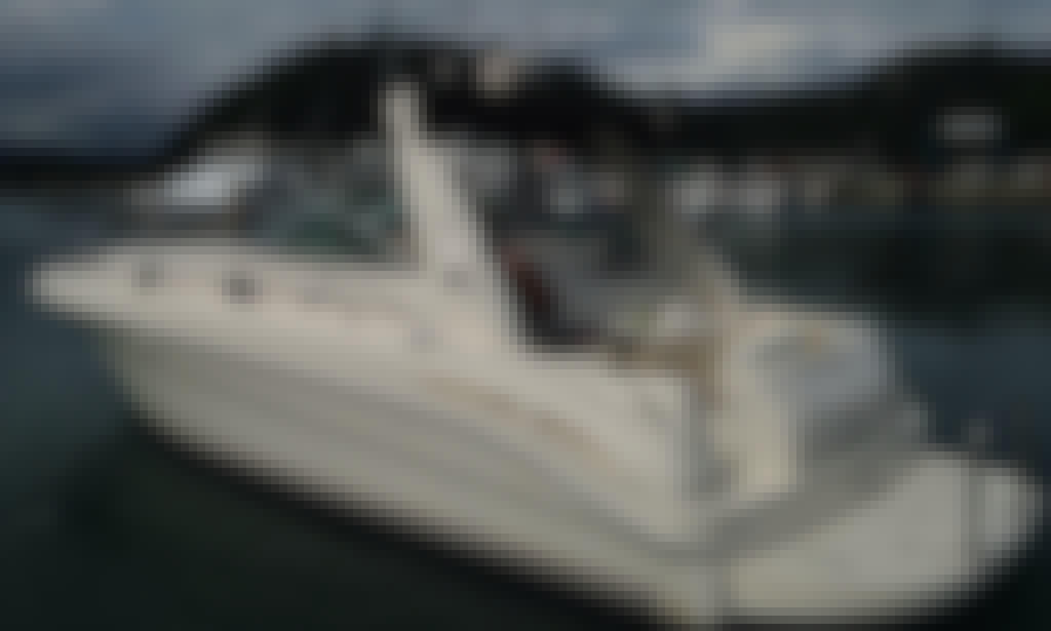 Enjoy Fishing in Quepos, Costa Rica on 34' Motor Yacht