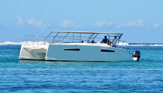 Exciting Cruises For Up To 20 People On Power Catamaran In Mauritius Island