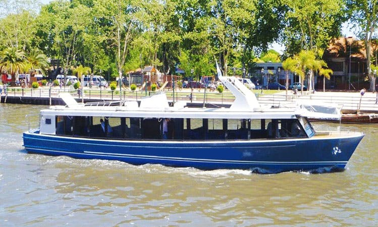 """River Cruises on the """"Realidad II"""" Boat in Buenos Aires"""