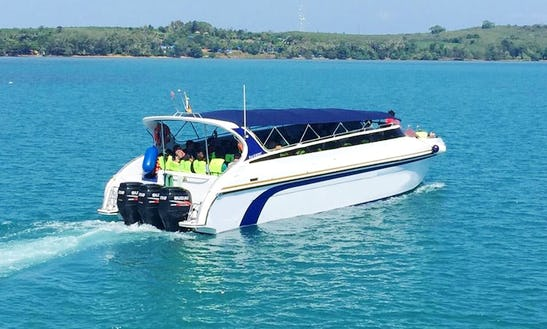 Charter A Passenger Boat In Tambon Laem Ngop, Thailand