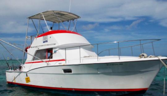 Enjoy Fishing In Punta Cana, Dominican Republic On 36' Chris Craft Sport Fisherman