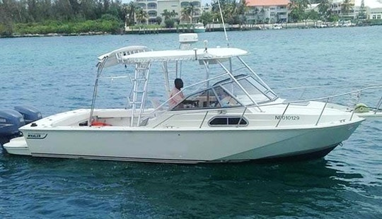 Enjoy Fishing In Nassau, Bahamas On 30' Prince Of Tides Cuddy Cabin