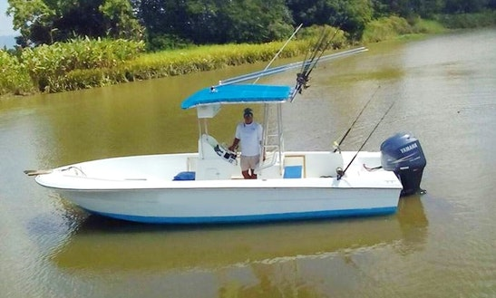 Enjoy Fishing In Puntarenas, Costa Rica On Center Console