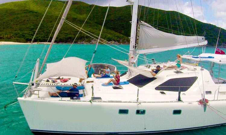 """Yacht Charter on """"Braveheart"""" in the Virgin Islands"""