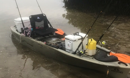 Fishing Kayak For Rent In Tampa